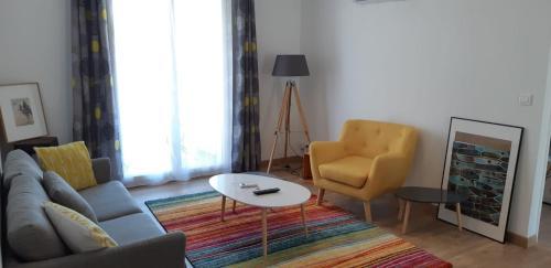 Sunny Marseille Vieux Port Á 15' 3 Chambres 2 Sdb Clim Balcon
