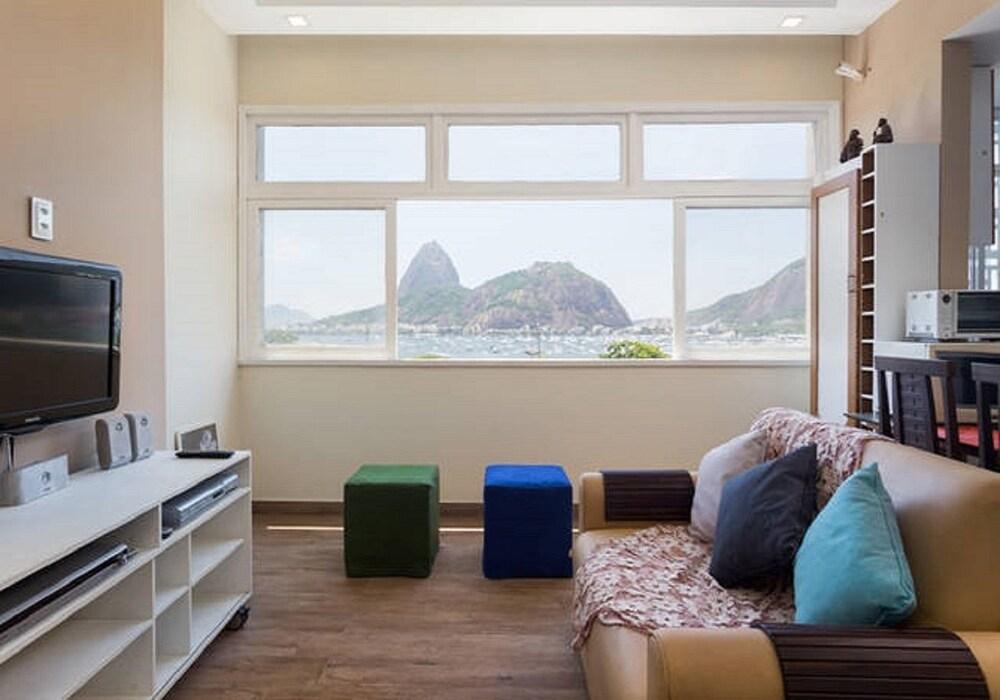 Moderno Apartamento Na Praia De Botafogo
