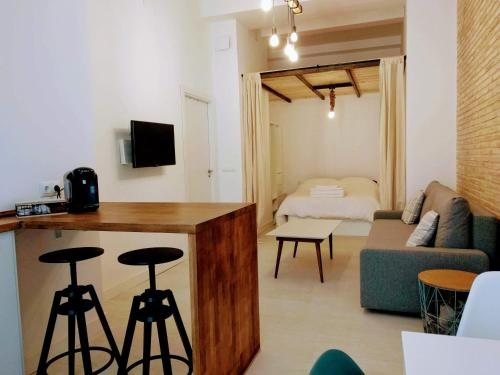 Cozy loft in Valencia city center B3