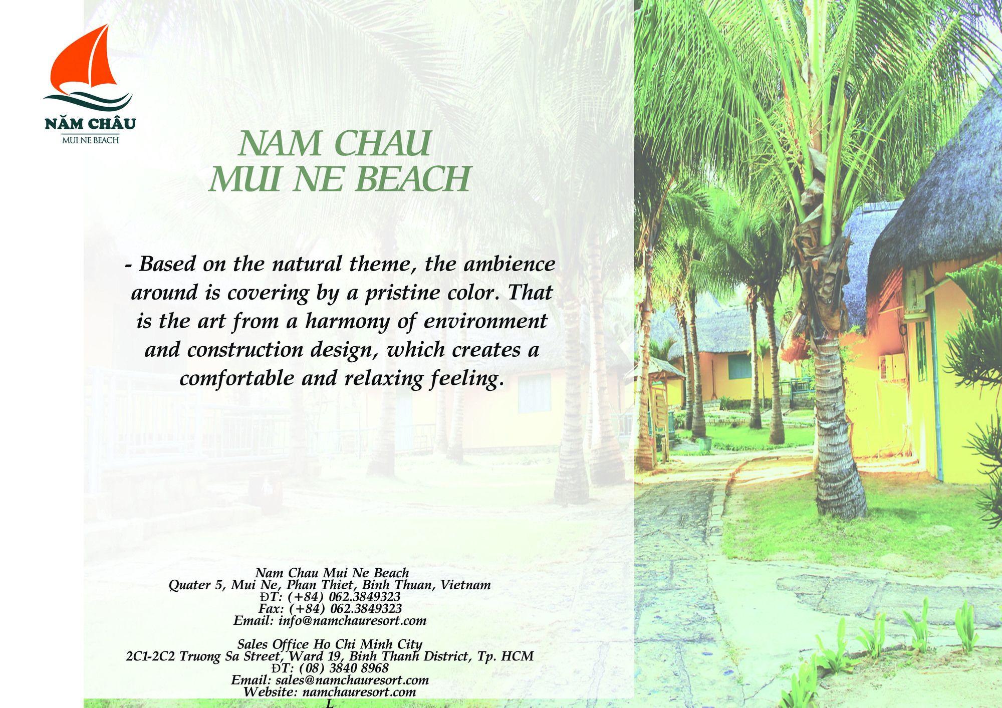 Nam Chau Boutique Resort Mui Ne Passion