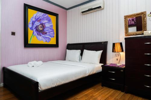 1BR with City View @ Semanggi Apartment By Travelio