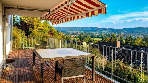 Apartment mit Fernsicht nahe Schweizer Grenze
