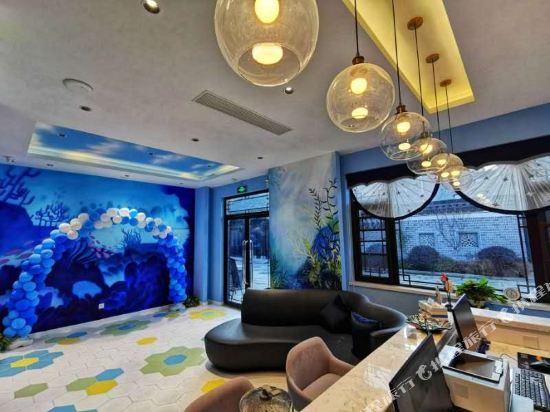 Great White Whale Ocean Theme Hostel