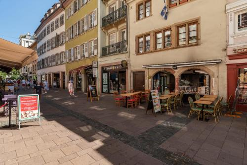 AUTOMATED CHECK IN Charming 2 room apartment for 4 Strasbourg