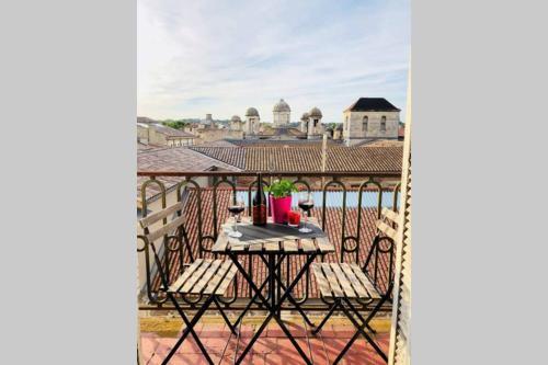 Une vue unique sur Nîmes