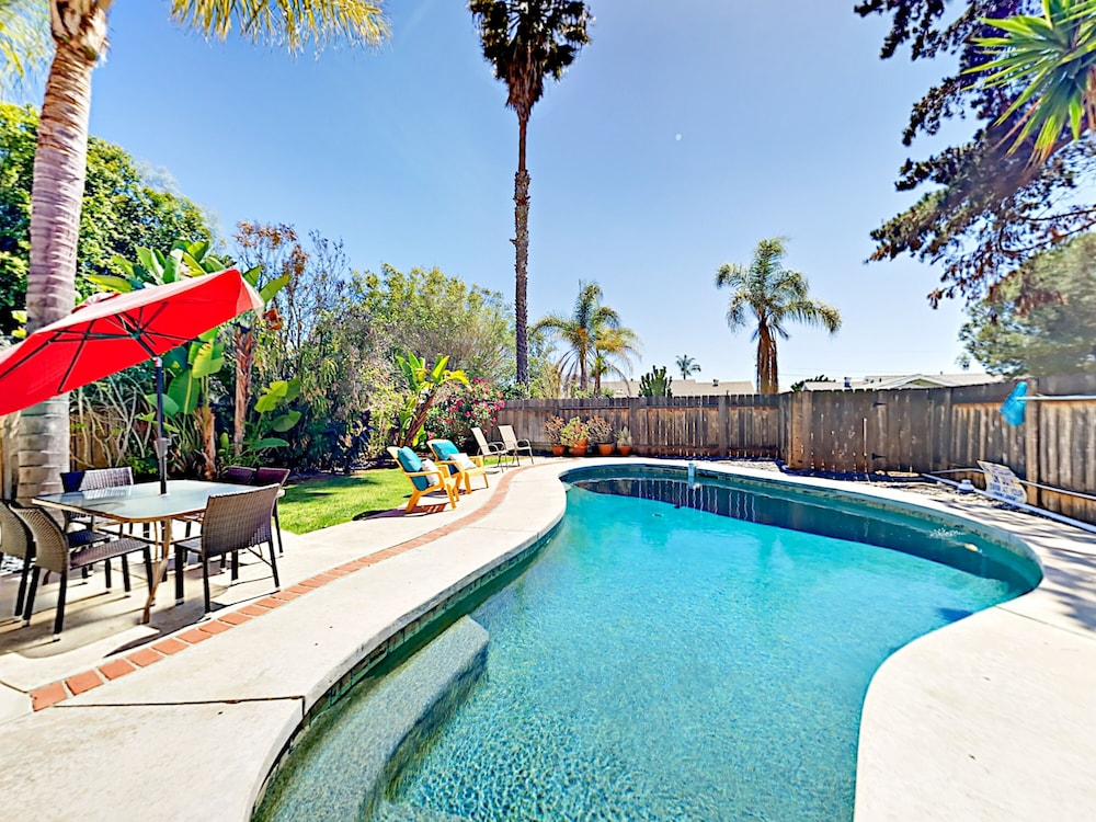 Tranquil 4br In Hills Of Clairemont 4 Bedroom Home