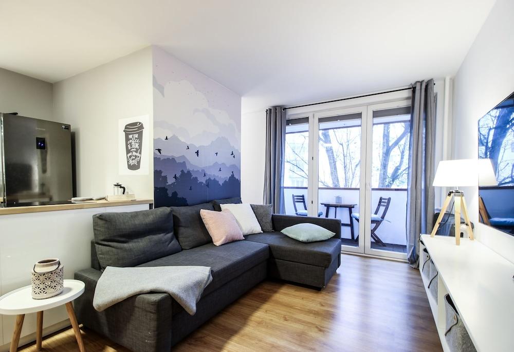 Powiśle Riverside Apartment