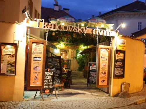 Apartments & Restaurant Tkalcovsky Dvur