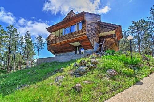 Luxe Boulder 'Barrett House' on Mtn Peak with Hot Tub