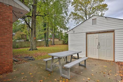 Charlotte Area Home w Patio 6 Mi. to Dtwn