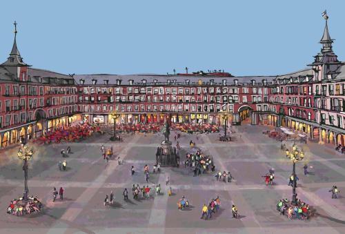 Book in Madrid Plaza Mayor