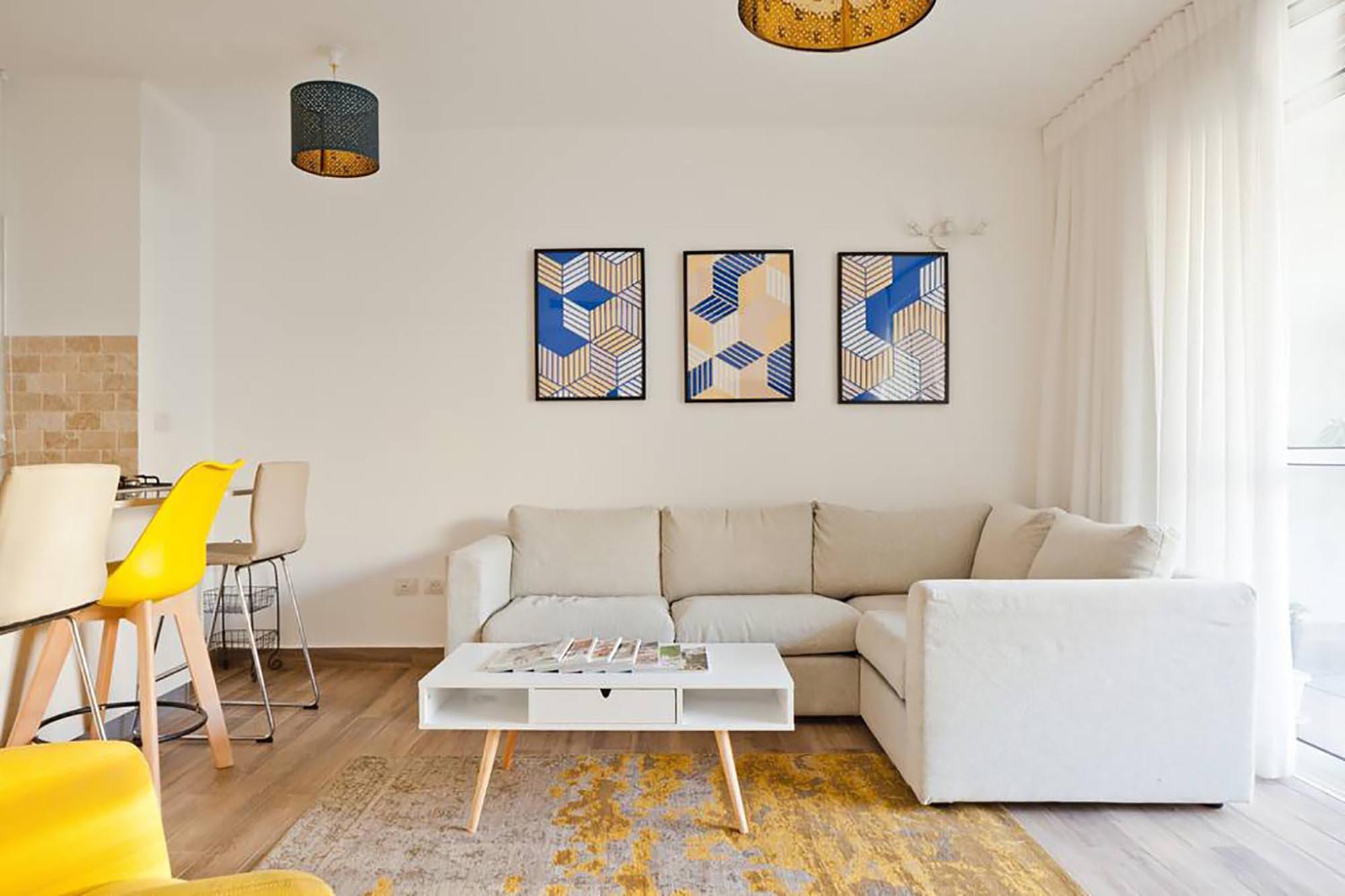 Modern 2 bedroom apartment in the heart of Jaffa