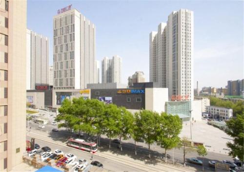 Changchun Hongqi Street Wanda Yuelai Apartment