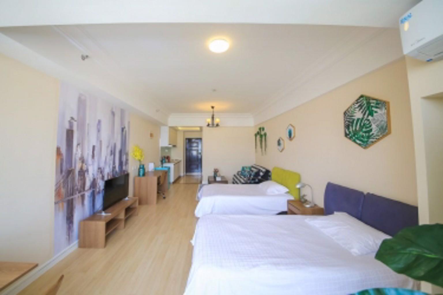 Lejiaxuan Seaview Apartment Wanda