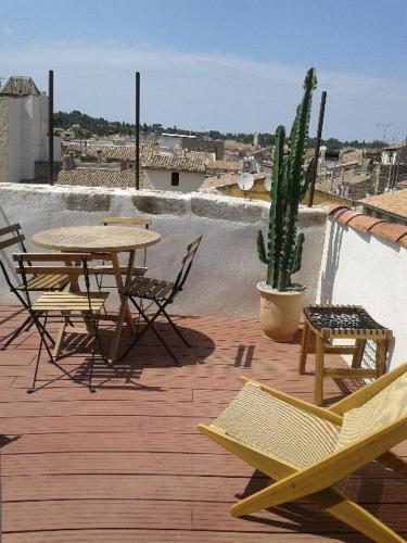 Appartement avec terrasse panoramique au coeur de Nîmes
