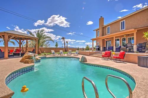 Las Vegas Home on 1 2 Acre w Pool 10 min to Strip