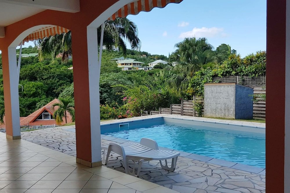 Apartment With 3 Bedrooms in Les Trois îlets With Shared Pool Furnished Terrace and Wifi 1 km From the Beach