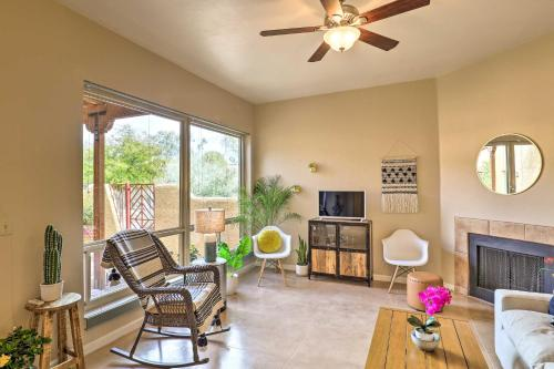 Tucson Townhome with Patio Less Than 12 Mi to Downtown
