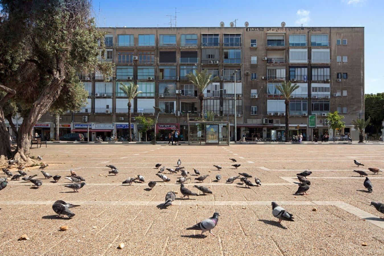 Inspiring Rabin Square Penthouse Museum