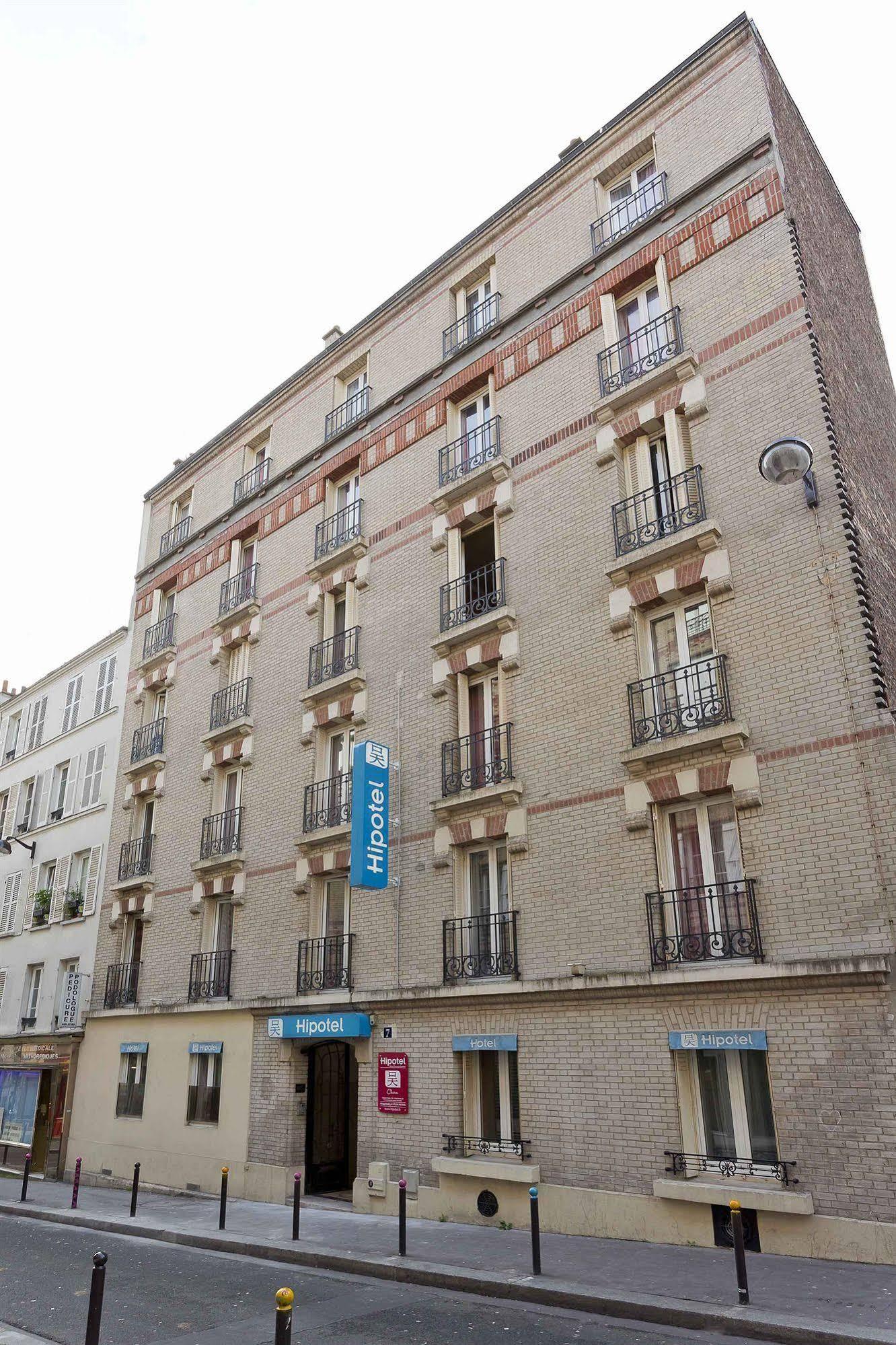 Hipotel Paris Buttes Chaumont Pyrnes