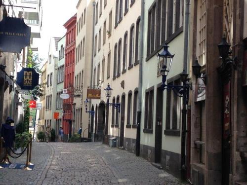 Romantik pur Köln Altstadt