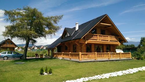 Rekreačný zrubový dom