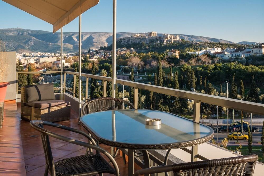 Virgo Loft Spectacular Acropolis View