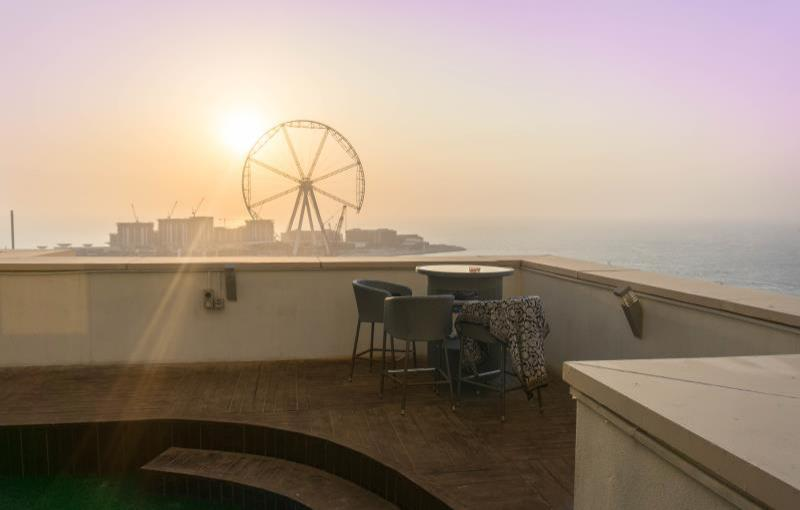 Dubai Beach Host Terrace Apartments