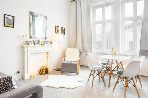 White Chocolate Apartment