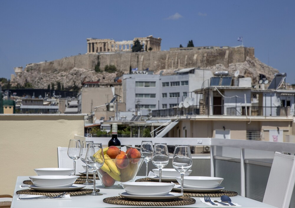 Acropolis View Penthouse Apartment by GHH
