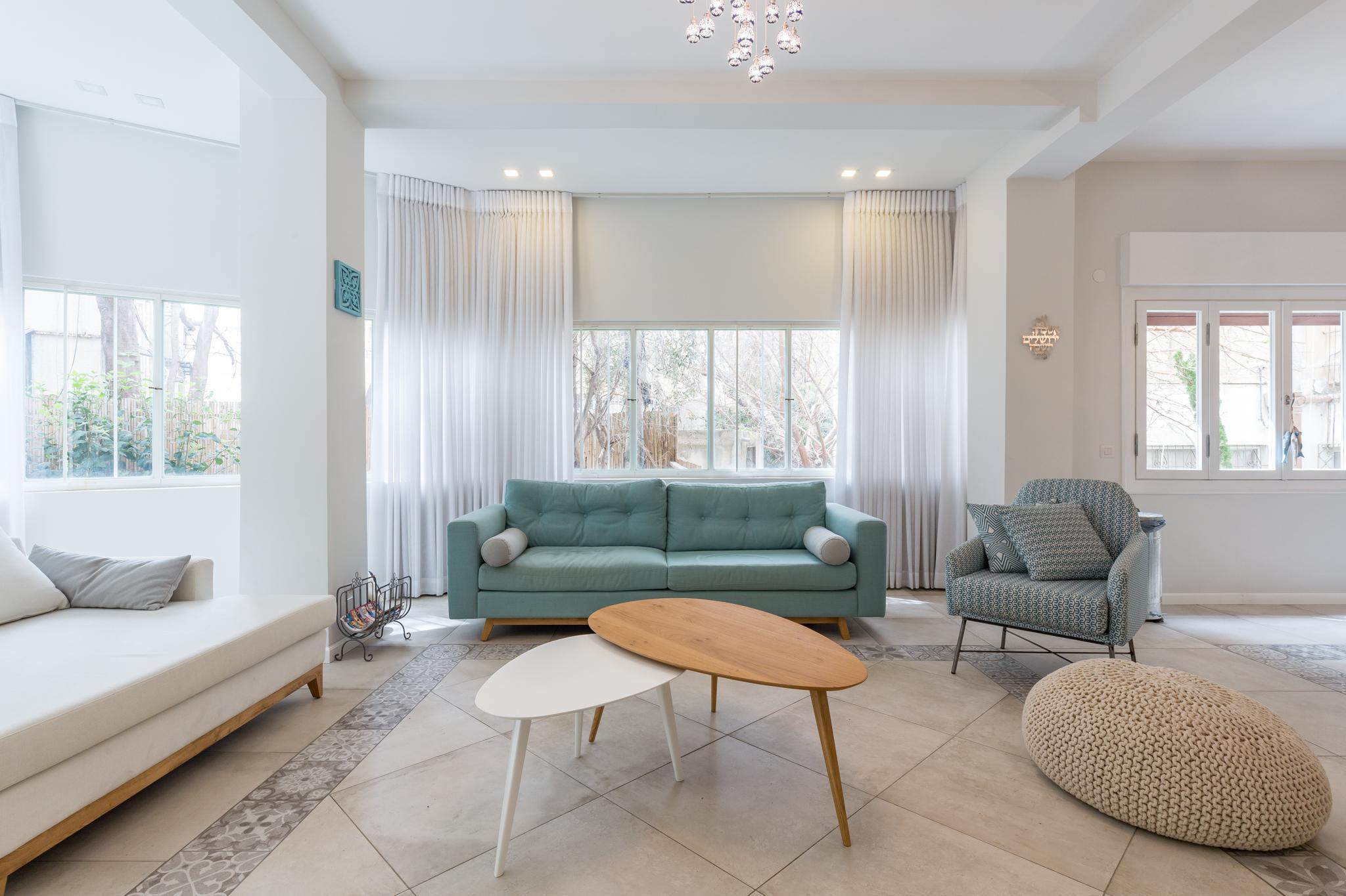 Charming 2 Bdr Apartment Garden Dizengoff #TL41