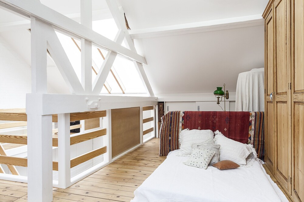 Bright and Sunny Attic Room