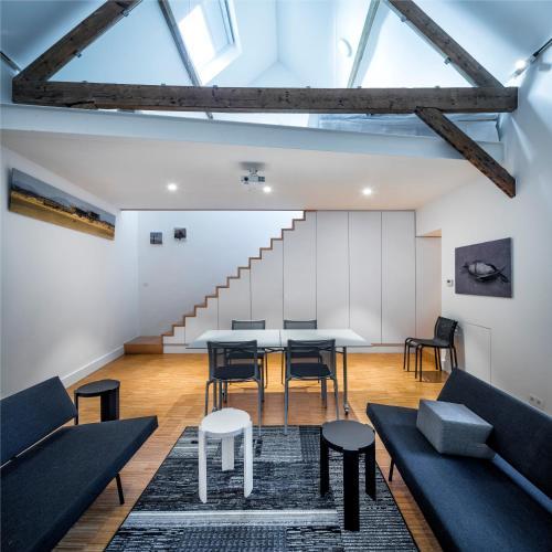 Spacy Artist Studio in Central Gent