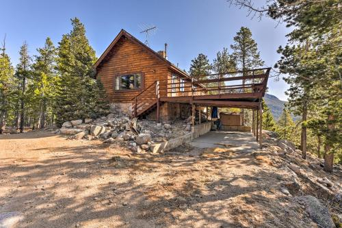 5 Acre Allenspark Cabin with Rocky Mntn Views and Pond