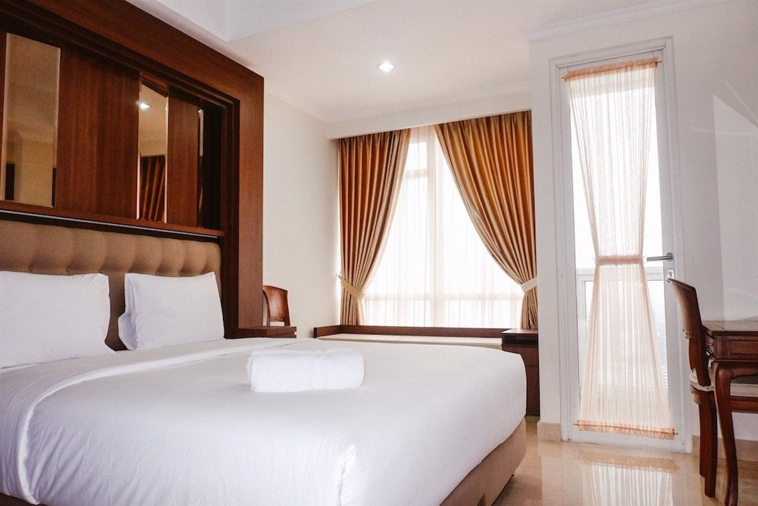 Studio at Menteng Park Apartment with City View