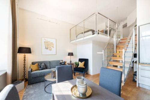 Nordic Host Luxury Apts Prinsens Gate Large Mezzanine Studio