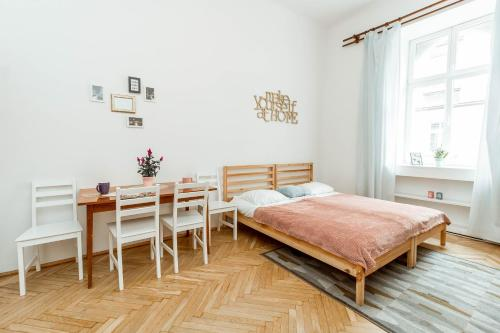 Old train station apartment