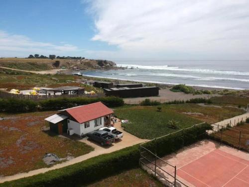 Casa En Condominio Punta De Lobos frente Al Mar