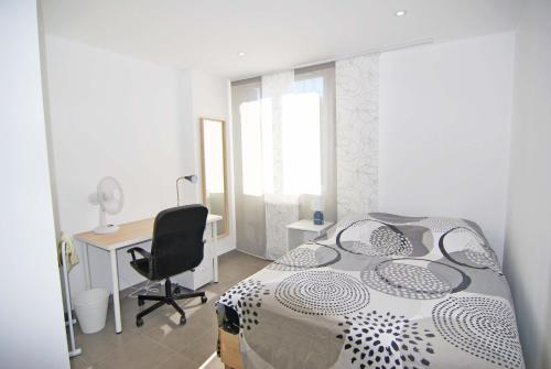 Chambre Montpellier Campanules