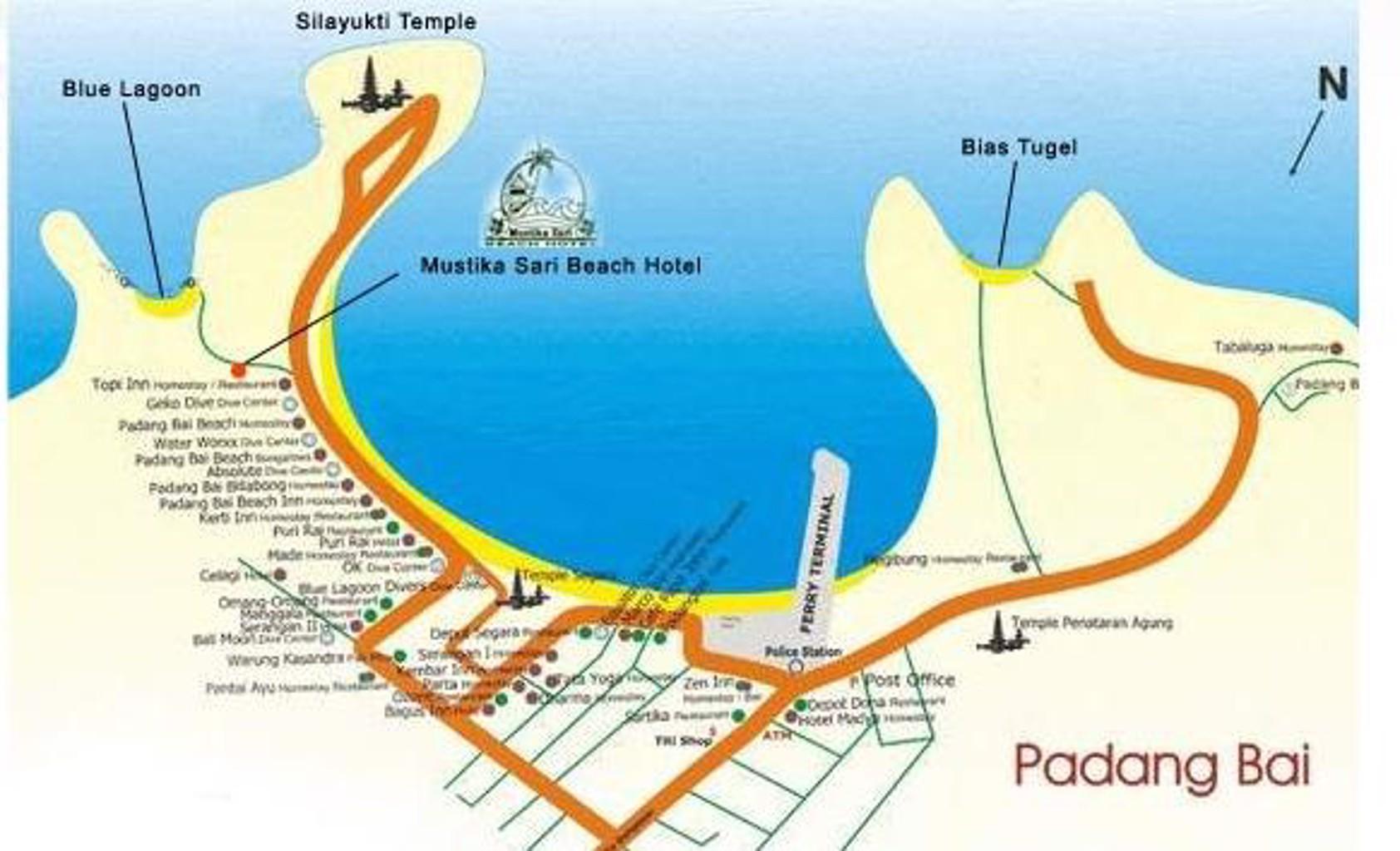 Gallery image of Mustika Sari Beach