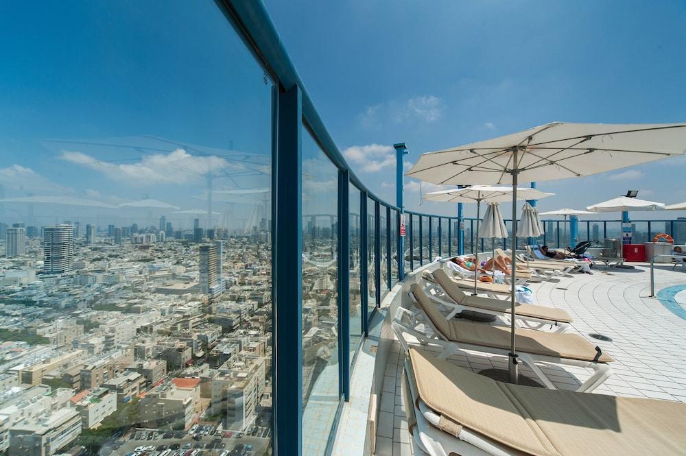 Sea View Luxury W Balcony Hayarkon 78