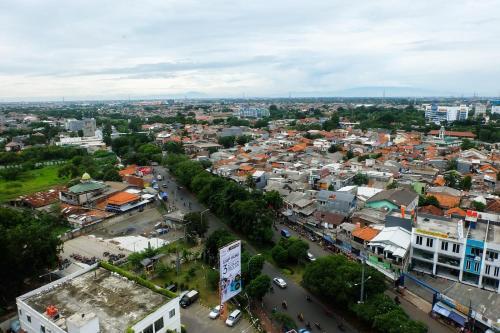 City View Studio Apartment at Grand Dhika City near Bekasi Timur Toll