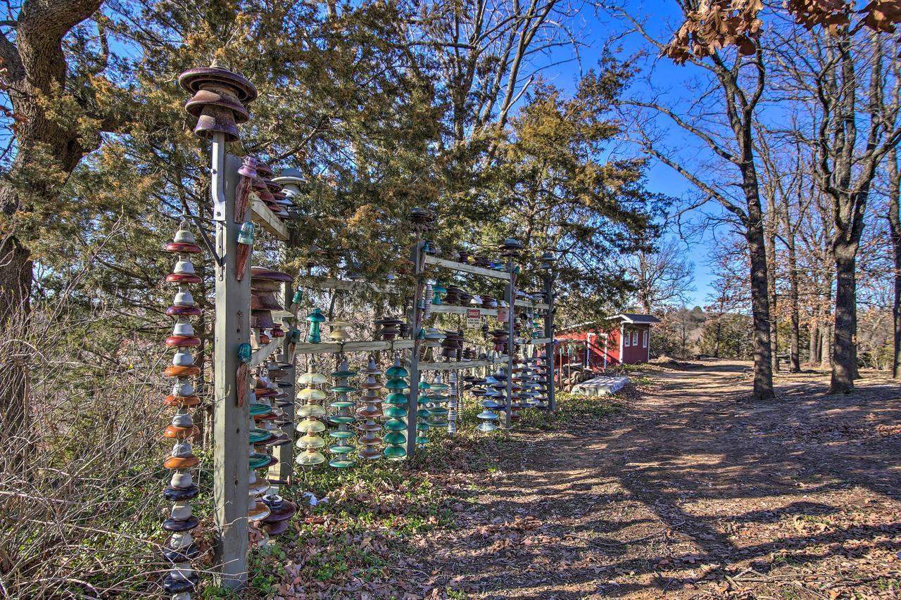 20 Acre Waterfront Keystone Lake Home w Trail