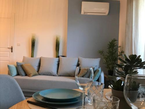 Splendide appartement climatisé et parking protégé
