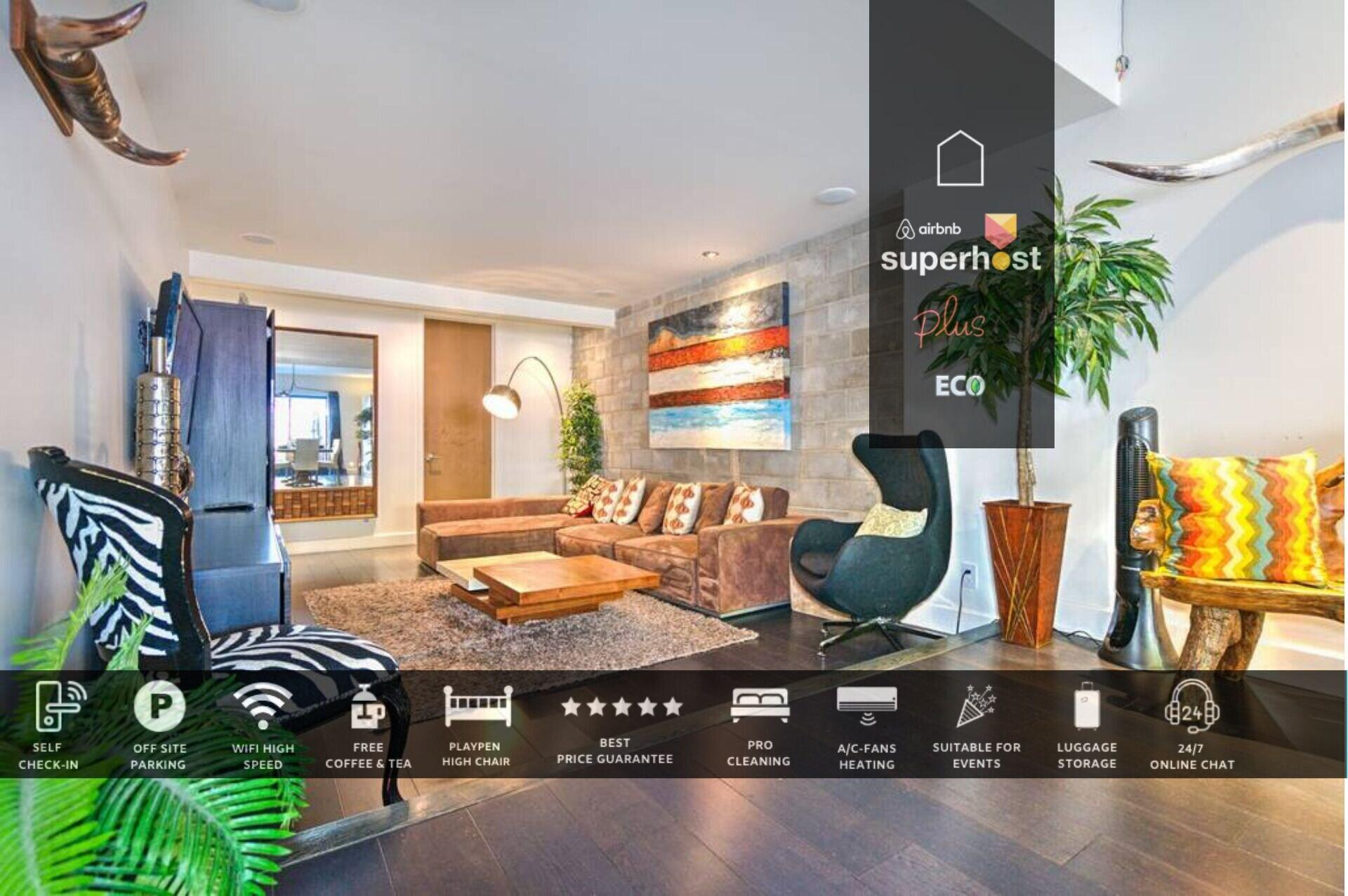 Plateau Luxury Penthouse Plato Ultra by Liv MTL