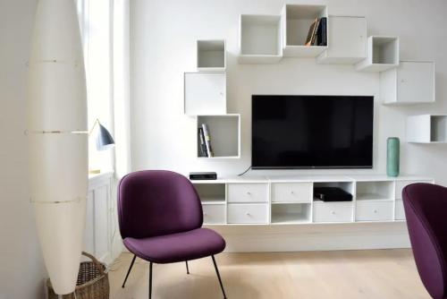 Beautifully Interior Designed Flat In The Heart Of Copenhagen