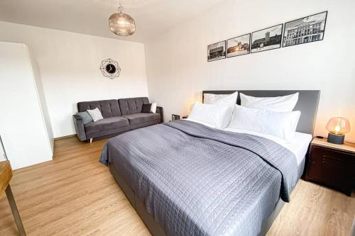Luxus Apartment in Leipzig mit Privat Parkplatz