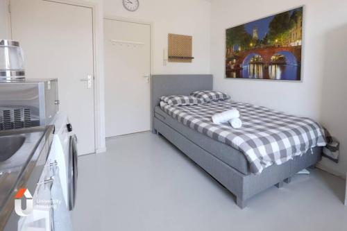 A centrally located spacious private studio in Utrecht