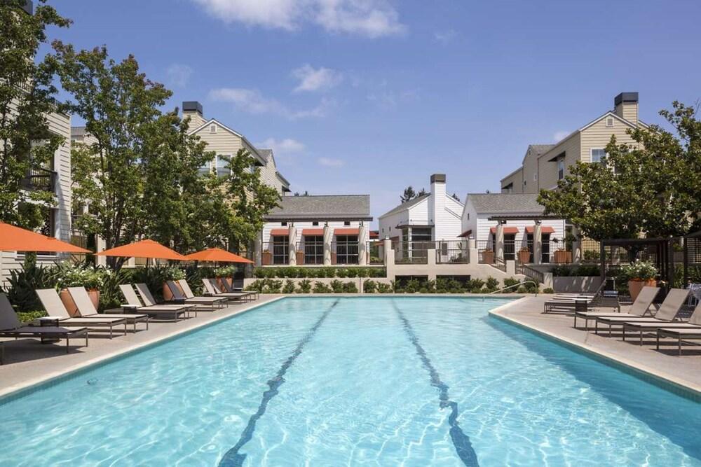 Global Luxury Suites near Apple HQ