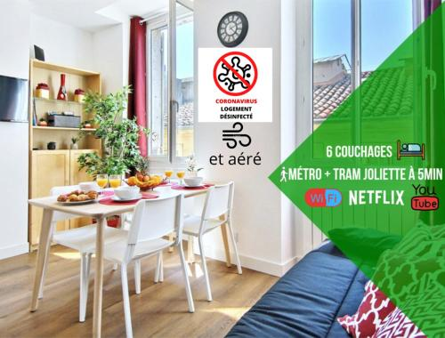 6 Couchages Wifi Fibre & Netflix